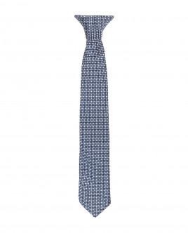 Blue clip on tie Gulliver