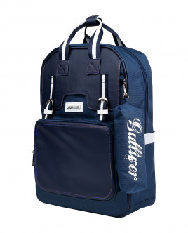Blue backpack Gulliver