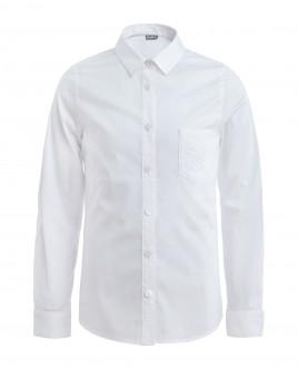 Белая блузка с длинным рукавом Gulliver