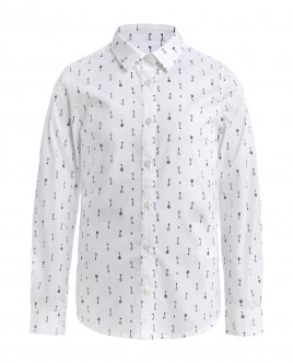 White blouse with Key print Gulliver