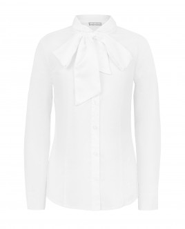 White blouse with bow Gulliver