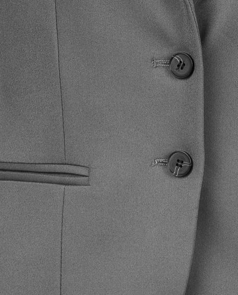 Серый жилет