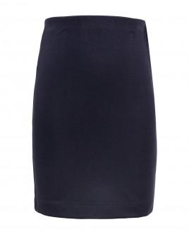 Синяя узкая юбка