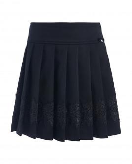 Black ornate skirt Gulliver