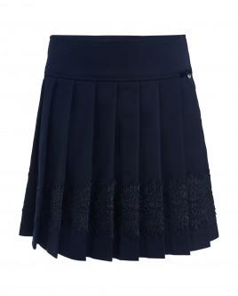 Синяя юбка с узором Gulliver