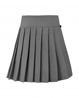 Grey ornate skirt Gulliver