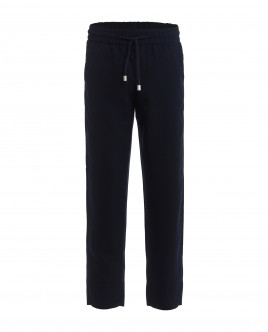 Blue elasticated waist trousers Gulliver