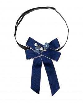 Blue neck bow Gulliver