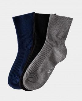 Комплект носков, 3 пары Gulliver Gulliver Wear 22000BC8506 синего цвета