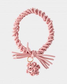 Розовая резинка для волос с декором Gulliver
