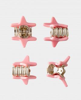 Розовый набор базовых заколок Gulliver Gulliver