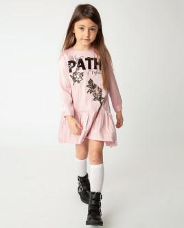 Розовое платье Gulliver