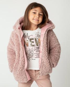 Розовая куртка демисезонная
