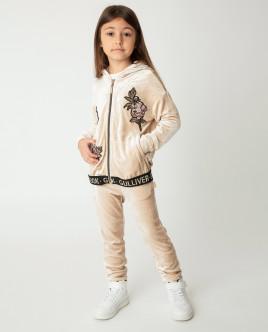 Бежевые брюки Gulliver Gulliver Wear 22001GMC5603 бежевого цвета
