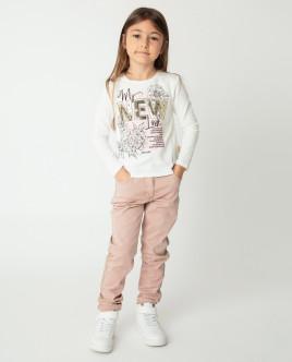 Розовые брюки Gulliver