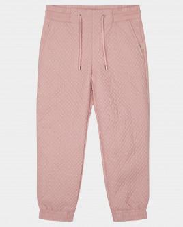 Розовые брюки утепленные демисезонные Gulliver Gulliver Wear 22001GMC6403 розового цвета