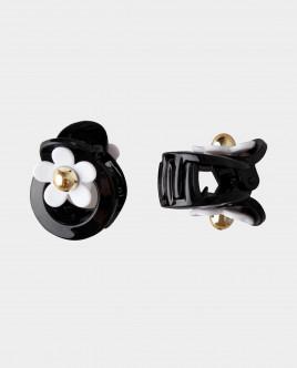 Черный набор заколок с декором Gulliver Gulliver
