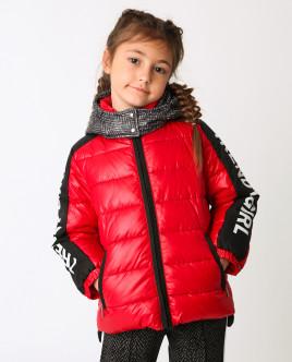 Красная куртка демисезонная Gulliver
