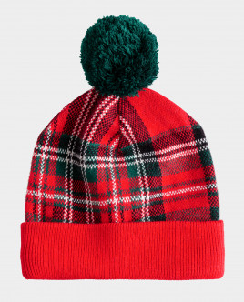 Красная шапка вязаная Gulliver