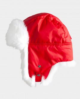 Красная шапка плащевая Gulliver