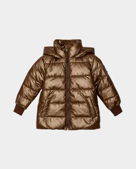 Коричневая куртка демисезонная Gulliver Gulliver Wear 22004BMC4109 коричневого цвета