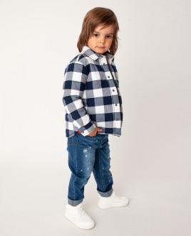 Клетчатый пиджак Gulliver