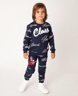 Синие брюки Gulliver Gulliver Wear 22005BMC5602 синего цвета