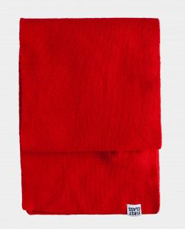 Красный шарф вязаный Gulliver