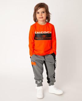 Оранжевая футболка с длинным рукавом Gulliver Gulliver Wear 22006BMC1204 оранжевого цвета