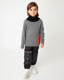 Серый свитер теплый Gulliver Gulliver