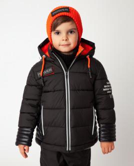 Черная куртка демисезонная Gulliver
