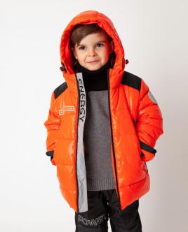 Оранжевая куртка зимняя Gulliver Gulliver