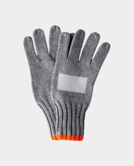 Серые перчатки вязаные Gulliver Gulliver
