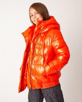 Оранжевая куртка демисезонная Gulliver
