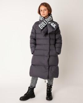 Серое пальто зимнее Gulliver Gulliver Wear 22008GJC4511 серого цвета