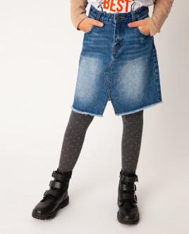 Синяя юбка Gulliver Gulliver Wear 22008GJC6103 синего цвета