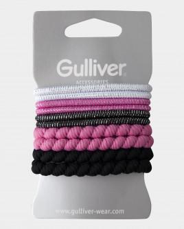 Набор базовых резинок для волос Gulliver