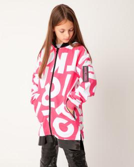 Розовая толстовка Gulliver Gulliver Wear 22009GJC1602 розового цвета