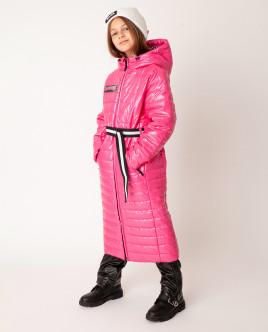Розовое пальто демисезонное Gulliver Gulliver