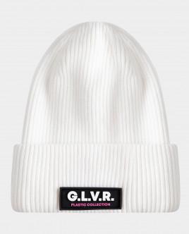 Белая шапка вязаная двойная Gulliver