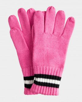 Розовые перчатки вязаные Gulliver Gulliver