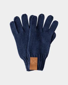 Синие перчатки вязаные Gulliver Gulliver