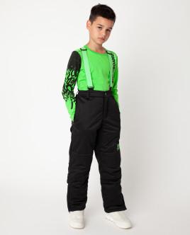 Зеленая футболка с длинным рукавом Gulliver