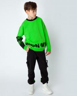 Зеленая толстовка Gulliver