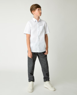 White short sleeve shirt Gulliver