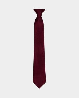 Красный фактурный галстук Gulliver
