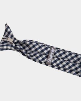 Beige Check Tie Gulliver