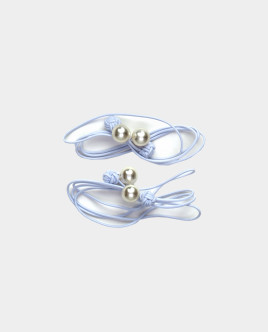 Set of elastic bands for hair with decor Gulliver