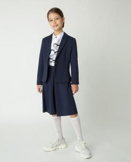 Синий пиджак из джерси Gulliver Gulliver