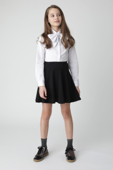 White blouse with a bow Gulliver